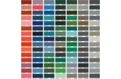 Paleta kolorów grzejników panelowych