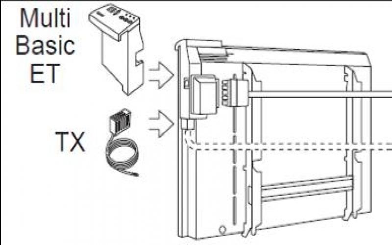 Moduł obniżki TX-5/24 do grzejników  ADAX Multi