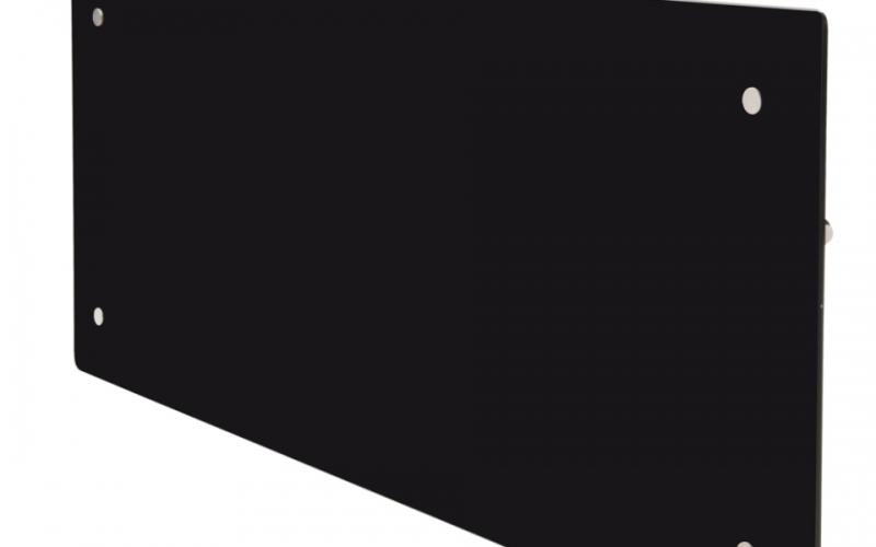 Szklany grzejnik ADAX CLEA H08 KWT Czarny