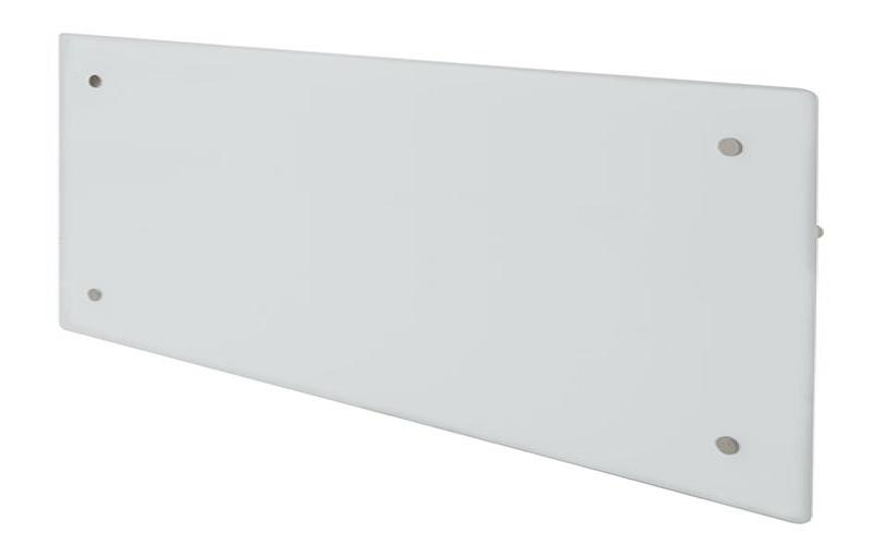 Szklany grzejnik ADAX CLEA H04 KWT Biały