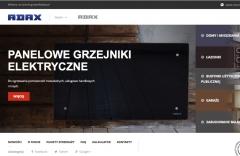 Odnowiona strona www.grzejnikiadax.pl